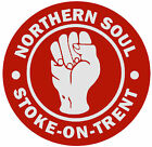 NORTHERN SOUL (STOKE ON TRENT) - SET OF FUN NOVELTY COASTERS - XMAS / BRAND NEW