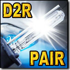 2x D2R HID Headlight Replacement bulbs for 1999 2000 2001 2002 2003 Infiniti QX4