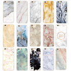 Various Fashion Patterns Marble Soft Back Case Cover For iPhone 5 5S  6 7 Plus