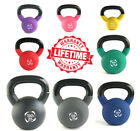 Cast Iron Kettlebell Neoprene Strength Training Home Gym Fitness Dumbbells