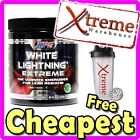 APS WHITE LIGHTNING EXTREME 60 SRV // PRE WORKOUT POWDER WEIGHT LOSS FAT BURNER
