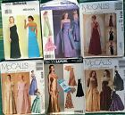 Misses Evening  Dress Sewing Pattern sold Individually Multi sizes & styles