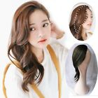 Clip in on Front Side Bangs Wavy Curly Heat Resistant Hair Extension Hairpieces