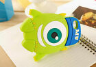 For iPhone and Samsung Cool Cartoon Animal 3D Rubber Silicone Phone Case Cover