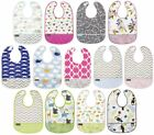 Kushies Cleanbib Infant or Toddler Waterproof Clean Bib with Pocket - K281