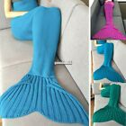 Knit Mermaid Tail Design Fishtail Blanket Sleeping Blankets New 2016  tail EA