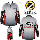 ZEREK Innovation Lures TOURNAMENT Long Sleeve FISHING SHIRT Choose Size UPF 25+
