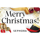 Sephora Gift Card - Merry Christmas - $25 $50 or $100 - Email delivery