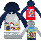 Paw Patrol rescue boys kids hoodie long sleeve tee xmas gift top clothing new
