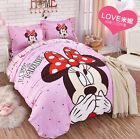 *** Love Minnie Mouse Queen Bed Quilt Cover Set - Flat or Fitted Sheet ***