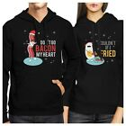 cute halloween couple costume ideas - Bacon And Egg Winter Version Couple Hoodies Cute Holiday Gift Ideas