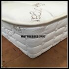 "QUEEN  10"" COMPLETELY NATURAL Latex Mattress  Wool Cover Encased  Oh So Nice"