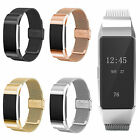 Luxury Milanese Stainless Steel Wrist Band Loop Strap Clasp for Fitbit Charge 2