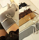 Over Knee Thigh High Cotton Stocking Long Knittd Xmas Coming Boot Socks Hosiery