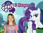 Your picture on a T shirt / Item with My Little Pony! Rainbow Dash, Rarity, Pink