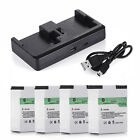 Battery for GoPro HD Hero3+ Hero3 / 2 Pcs AHDBT-302 301 + Dual Battery Charger