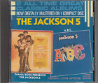 The Jackson 5 Diana Ross Presents / ABC 2 on 1 CD FASTPOST