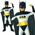 Batman Superhero Halloween Cosplay Kids Child Outfit Boys Fancy Costume Yr 3-12