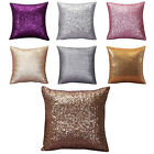US Super Shine Small Sequins Decorative Throw Pillow Case Cushion Covers Decor