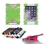 Universal Sillicon Rubber Stand Case Cover Skin For iPad & Android Tablet