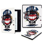 Folio Pattern Slim Leather Smart Stand Case Cover For Amazon Kindle Oasis Voyage