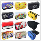 Anime Pen Bag Cosplay Cosmetic Brush Pouch Canvas Pencil Case Stationery Box Hot