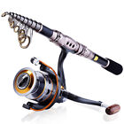 Fishing Combos Rod and Reel Tackle Kits Telescopic Spinning Fishing Gears Sets