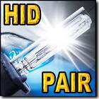 H4 9003 HB2 Bi-Xenon (High HID / Low HID) HID Replacement Bulbs 43K 6K 8K 10K !