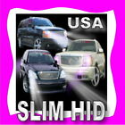 SLIM H4 Bi-xenon (Hi/Lo)  HID Conversion Kit High & Low Beam 43K 6K 8K 10K !