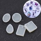 DIY Jewelry Silicone Mold Pendant Charm Making Mould With Hanging Hole OK
