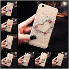 Bling Crystals Handmade TPU Soft Transparent Back Case Cover For LG