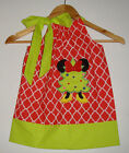 Christmas dress Minnie Mouse Dress pillowcase Disney 100% cotton  dressy