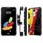 LG [G Stylo2 Stylo 2] Armor Case [Kickstand] [Holster] [Screen Protector] - G