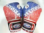 BOXING GLOVES RUSSIA VINTAGE DESIGN LIMITED EDITION MUAY THAI MMA K1 SIZE 14 OZ.