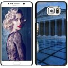 Hard Phone Case Cover Skin For Samsung Antique greek swimming pool