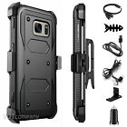 HEAVY DUTY TOUGH SHOCK PROOF CLIP HOLSTER HARD CASE COVER FOR MOBILE PHONES