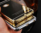 Luxury Aluminum Ultra-thin Mirror Metal Case Cover for iPhone 5 5S SE 6 Plus