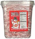 Bob's Naturally Flavored Peppermint Red & White Candy Canes 280 Count Tub