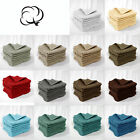 Pack of 8 - 100% Cotton Towels Cloths Dots Face Washers 30 x 30cm