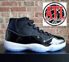 Nike Air Jordan 11 XI Space Jam Black Concord White 378037-003 Men GS Sz 4Y-13