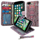 For Apple iPhone 8 / iPhone 7 4.7 inch Flip Wallet Card Holder STAND Case Cover