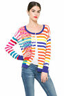 Desigual  Bright Striped Beatriz Cardigan S-XXL UK 10-18 RRP£94