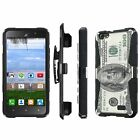 Huawei Raven H892L Armor Case [Kickstand] [Holster] [Screen Protector] - I