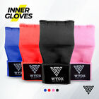 Wyox Inner Hand Wraps Padded Gloves Fist Gel Bandages MMA Boxing Pink Red Black