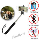 Handheld Wired Universal Camera Monopod Selfie Stick For Apple Android Iphone