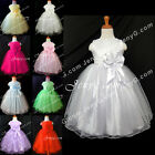 SB6 Baby Flower Girl Wedding Pageant Formal Party Birthday Prom Gowns Dresses