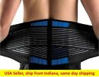 Внешний вид - Neoprene DLX Belt  Dbl Pull Lumbar Lower Back Support Brace Pain Relief (S-4XL)