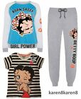 Primark Ladies BETTY BOOP Pyjamas T SHIRT JOGGERS LOUNGE JUMPER $21.24 CAD