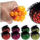 Novelty Adult Anti-Stress Squishy Mesh Ball Grape Squeeze in Sensory Fruity Toys