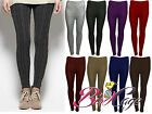 New Women's Ladies Chunky Cable Knit Pattern Knitted Thick Wool Warm Leggings